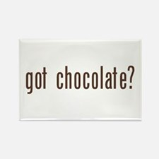 got chocholate? Rectangle Magnet