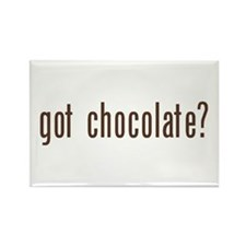 got chocholate? Rectangle Magnet (10 pack)