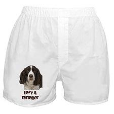 Love A Springer Boxer Shorts