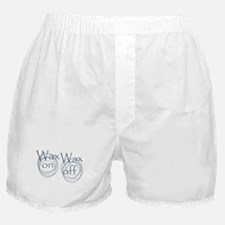 Wax On, Wax Off Boxer Shorts