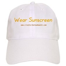 Wear Sunscreen Baseball Cap