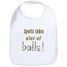 Sports takes alot of balls! Bib