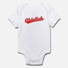 Retro Abdullah (Red) Infant Bodysuit