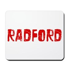 Radford Faded (Red) Mousepad