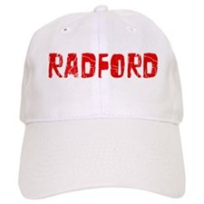 Radford Faded (Red) Baseball Baseball Cap