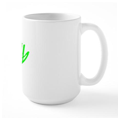 Vintage Derby (Green) Large Mug