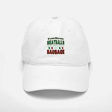 Italian Food Baseball Baseball Cap