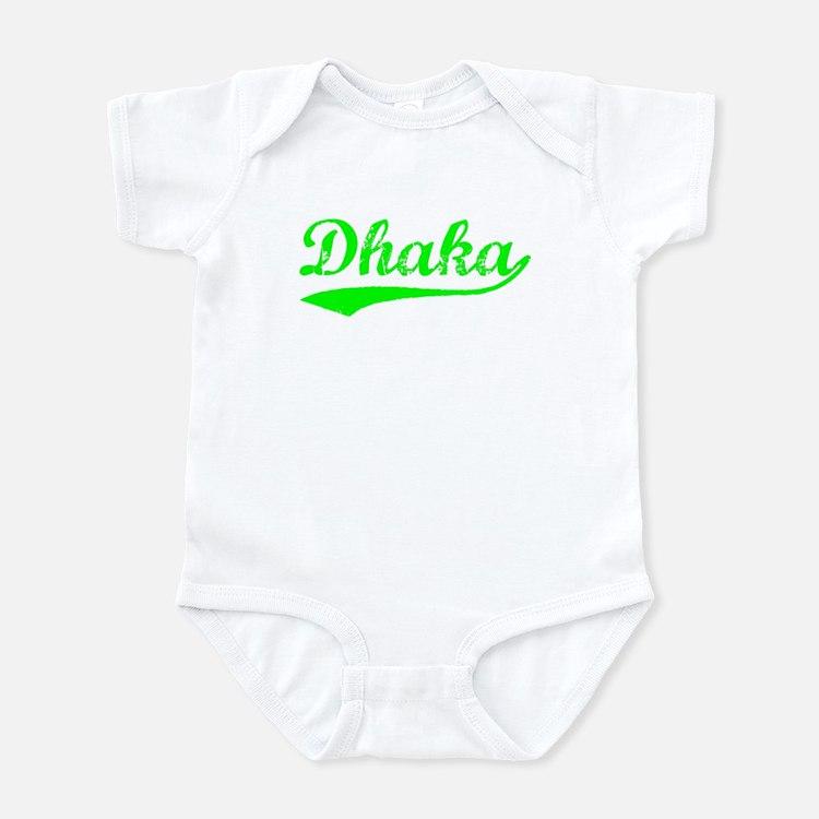 Vintage Dhaka (Green) Infant Bodysuit