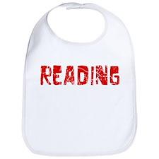 Reading Faded (Red) Bib
