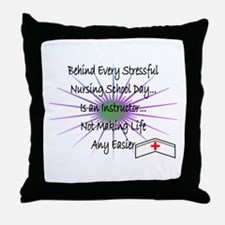 Student Nurse II Throw Pillow