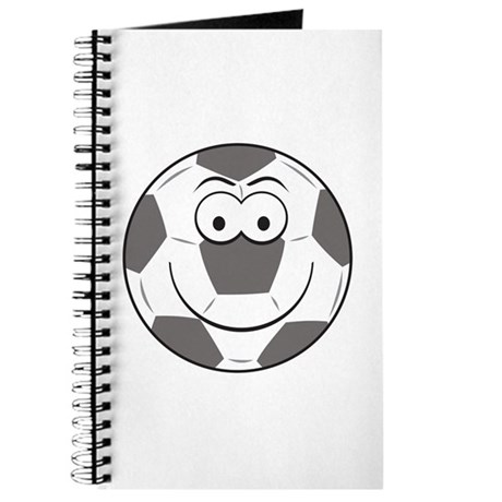 Soccer Ball Smiley Face Journal