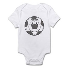 Soccer Ball Smiley Face Infant Bodysuit