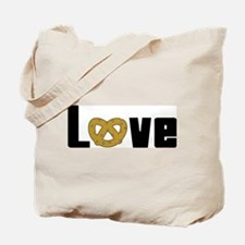 Love Pretzels Tote Bag