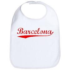 Vintage Barcelona (Red) Bib