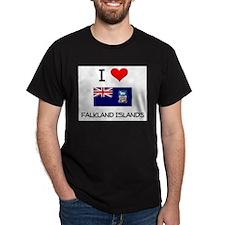 I Love Falkland Islands T-Shirt