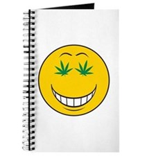 Pothead Smiley Face Journal
