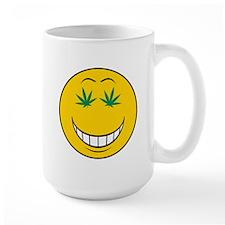 Pothead Smiley Face Mug