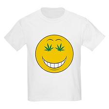 Pothead Smiley Face T-Shirt