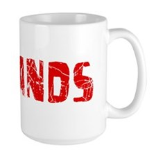 Redlands Faded (Red) Mug