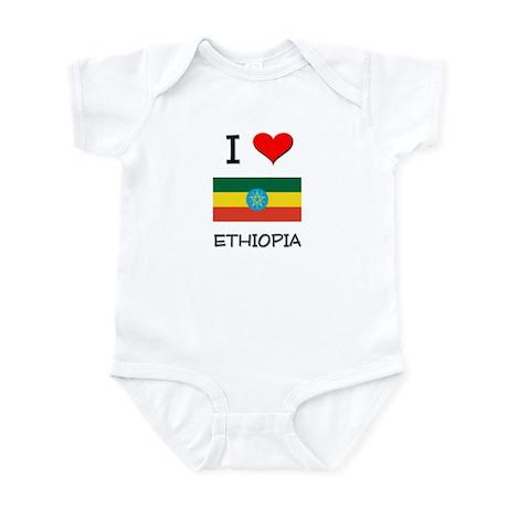 I Love Ethiopia Infant Bodysuit