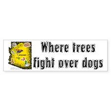 AZ-Trees Fight! Bumper Bumper Sticker