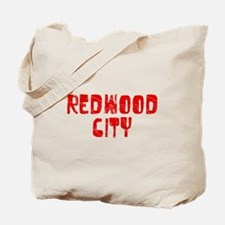 Redwood City Faded (Red) Tote Bag
