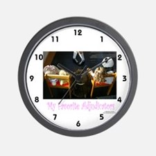 My Favorite Adjudicators - Wall Clock