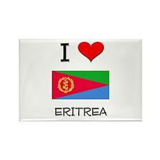 I Love Eritrea Rectangle Magnet