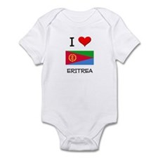 I Love Eritrea Infant Bodysuit