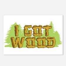 FB I Got Wood Postcards (Package of 8)