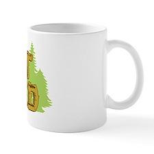FB I Got Wood Mug