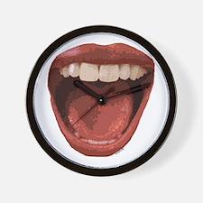 Big Mouth Wall Clock