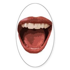 Big Mouth Decal