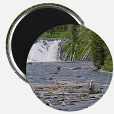 Fly Fishing Yellowstone Magnet