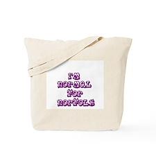 Normal for Norfolk Tote Bag