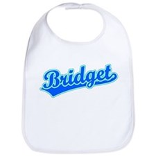 Retro Bridget (Blue) Bib