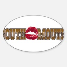 South Mouth Oval Decal