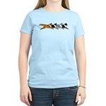 Group O' Shelties Women's Light T-Shirt