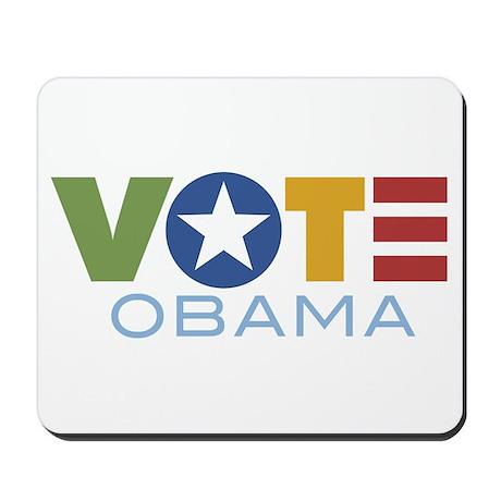 Vote Obama Mousepad