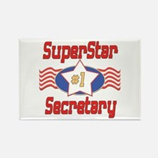 Superstar Secretary Rectangle Magnet (10 pack)
