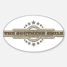 Southern Smile Oval Decal
