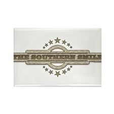 Southern Smile Rectangle Magnet