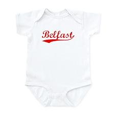 Vintage Belfast (Red) Infant Bodysuit