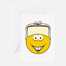 Redneck Smiley Face Greeting Cards (Pk of 20)