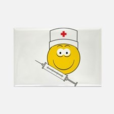 Medical/Doctor Smiley Face Rectangle Magnet