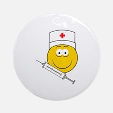 Medical/Doctor Smiley Face Ornament (Round)