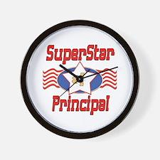 Superstar Principal Wall Clock
