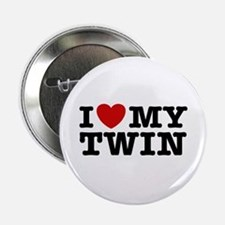 "I Love My Twin 2.25"" Button"