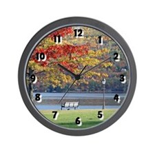 Autumn Park Wall Clock