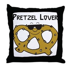 Pretzel Lover Throw Pillow